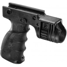"""FAB Defence - TACTICAL FOREGRIP WITH 1"""" WEAPON LIGHT ADAPTER AND INTEGRATED ON/OFF TRIGGER"""