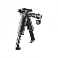 FAB Defence - TACTICAL FOREGRIP WITH INTEGRATED ADJUSTABLE BIPOD AND INCORPORATED FLASHLIGHT - GEN 2