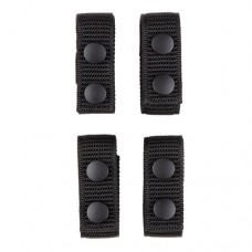 "2 Only - Aker Leather - C931 A-TAC 1"" Belt Keepers (4 Pack) (Black Ballistic)"
