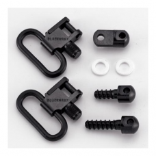 "Blackhawk - 70SW09 LOK-DOWN Ruger Carbine 1"" Sling Swivel Set (Blued)"