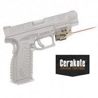 Crimson Trace  - CMR-201 CTAN RAIL MASTER™ COYOTE TAN CERAKOTE™ UNIVERSAL LASER SIGHT FOR RAIL-EQUIPPED PISTOLS AND RIFLES