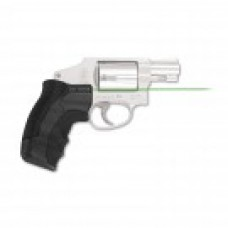 Crimson Trace - LG-350G GREEN LASERGRIPS® FOR SMITH & WESSON J-FRAME ROUND BUTT