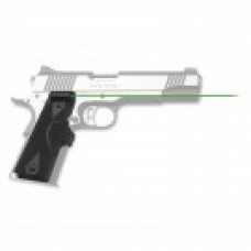Crimson Trace - LG-401G FRONT ACTIVATION GREEN LASERGRIPS® FOR 1911 FULL-SIZE