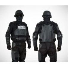 Damascus - FX1 FlexForce Modular Hard Shell Crowd Control System (Black)
