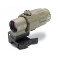 EOTech G33 3x Magnifier with Switch to Side Quick Detachable Mount - Tan