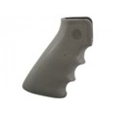 Hogue - AR-15/M-16 OverMolded Rubber Grip with Finger Grooves Olive Drab