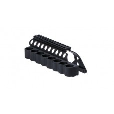 "Mesa Tactical Remington 870 SureShell Carrier & 5"" Saddle Rail (8-Shell, 12-GA)"