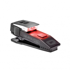 QuiqLite X USB Rechargeable LED Clip-on Light - Red/White