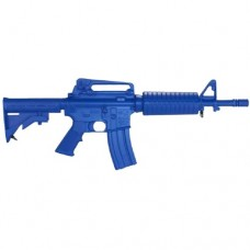 Rings Blue Guns - Colt M4 Commando Firearm Simulator with Closed Stock