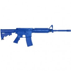 Rings Blue Guns - Colt Flat Top M4 Firearm Simulator with Rail and Closed Stock