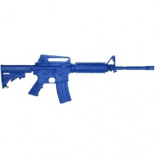 Rings Blue Guns - Colt M4 Firearm Simulator with Rail and Closed Stock
