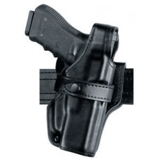 3 Only - Safariland 070 Duty Holster, SSIII Mid-Ride, Level III Retention - Basket Black, Right - S&W