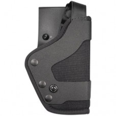 1 Only - Uncle Mikes - Uncle Mikes High Ride Dual Retention Duty Holster - SIG 9mm, 38S, 40, 45 - Left Hand