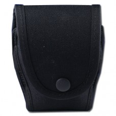 1 Only - Uncle Mikes - 8878-1 Single Cuff Case with Flap (Black)