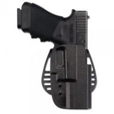1 Only - Uncle Mike's Paddle Holster Right Hand Kydex Black 5412-1